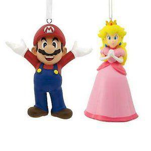 Super Mario Bros. Mario & Princess Peach Ornament